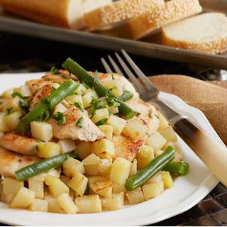 Lemon-Parsley Skillet Chicken