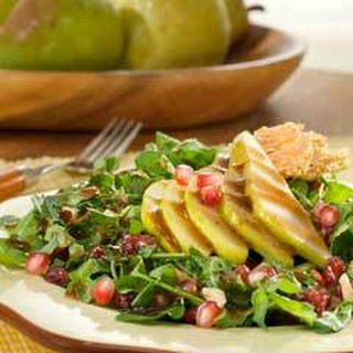 Fall Harvest Salad With Balsamic Vinaigrette.