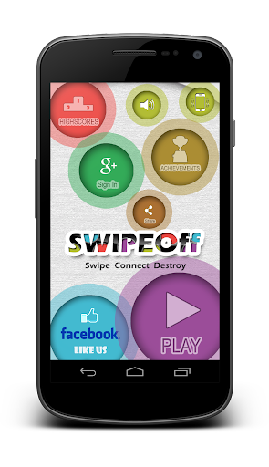 Swipe Off : Game of Crazy Dots