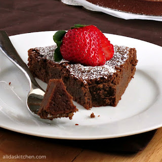 Chocolate Chickpea Cake