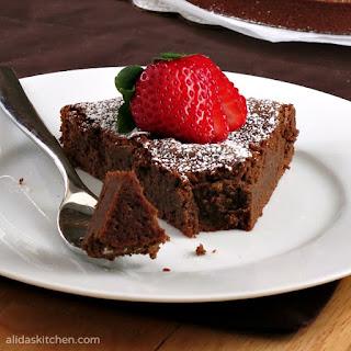 Chocolate Chickpea Cake.