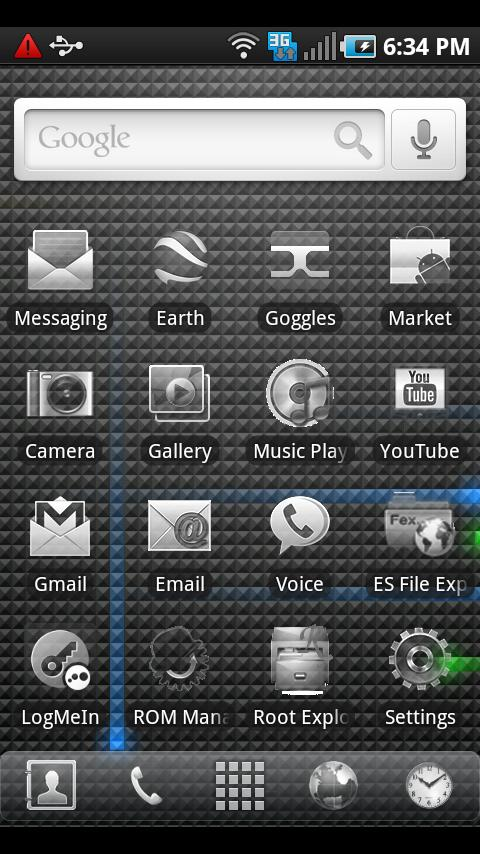 ADWTheme Faded - screenshot