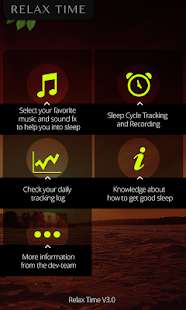 Relax Music & Sleep Cycle- screenshot thumbnail