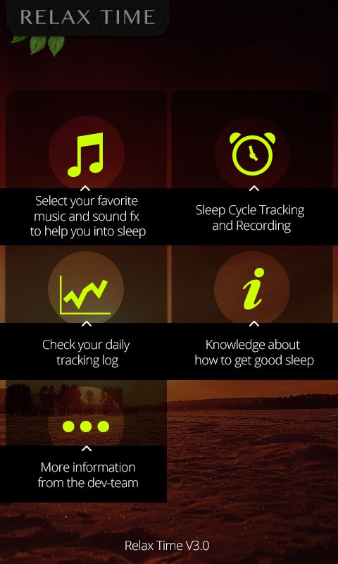 Relax Music ( Sleep Cycle) - screenshot