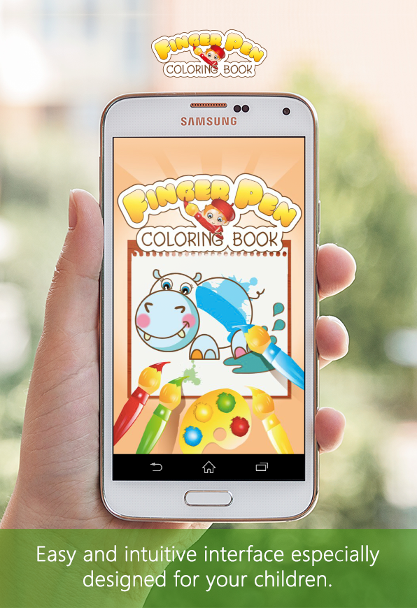 Coloring book FingerPen 🎨- screenshot