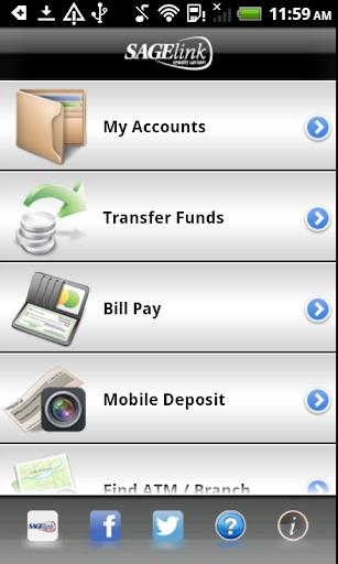 SageLink C.U. Mobile Banking