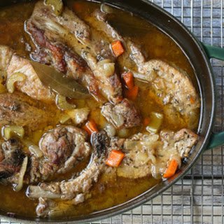 Oven Braised Country Style Pork Ribs with Apple Cider