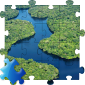 Amazon River Jigsaw Puzzle