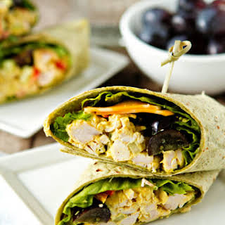 Curried Chicken Salad Wraps.