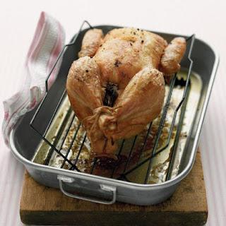 Lemon Roasted Chicken.