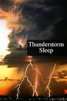 Screenshot of Thunderstorm Sleep sound