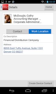 Contact Employee for JDE E1 - náhled
