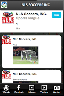NLS SOCCERS INC- screenshot thumbnail