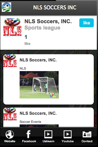 NLS SOCCERS INC- screenshot