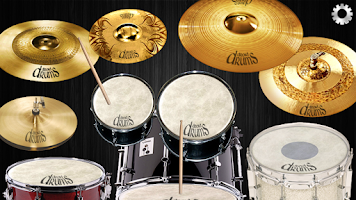 Screenshot of Drums Droid realistic HD