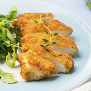 Grain Free Baked Chicken Kiev