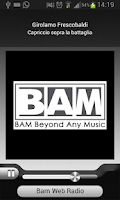Screenshot of Bam Web Radio