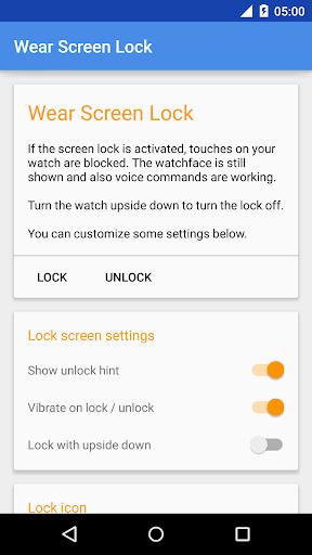 Wear Screen Lock