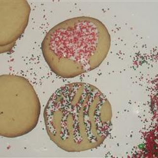 Busia's Cutout Cookies.