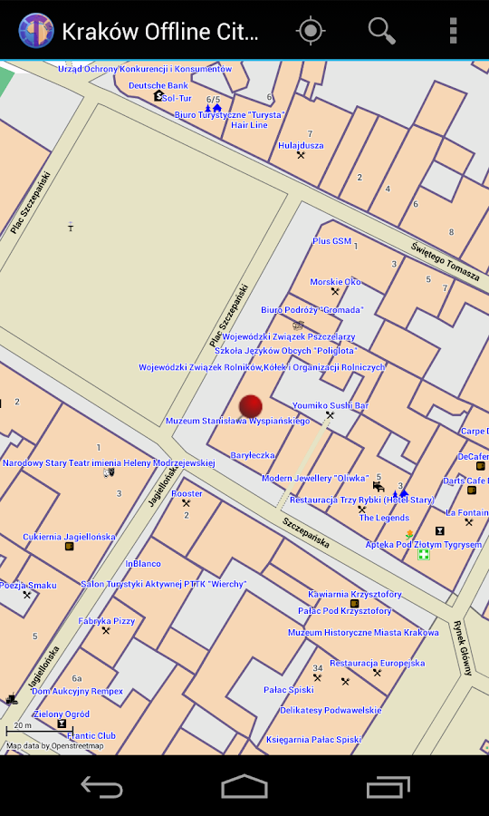 Kraków Offline City Map- screenshot