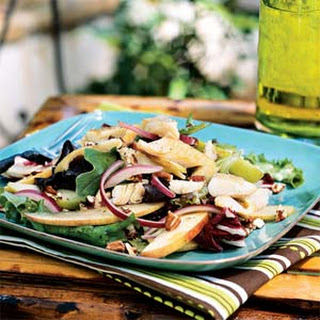 Smoked Trout Salad with Apples and Pecans.