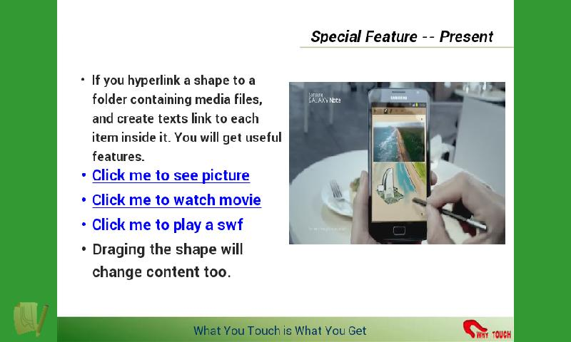 Touchshow Powerpoint Player - screenshot