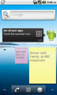 Droid Notepad - screenshot thumbnail