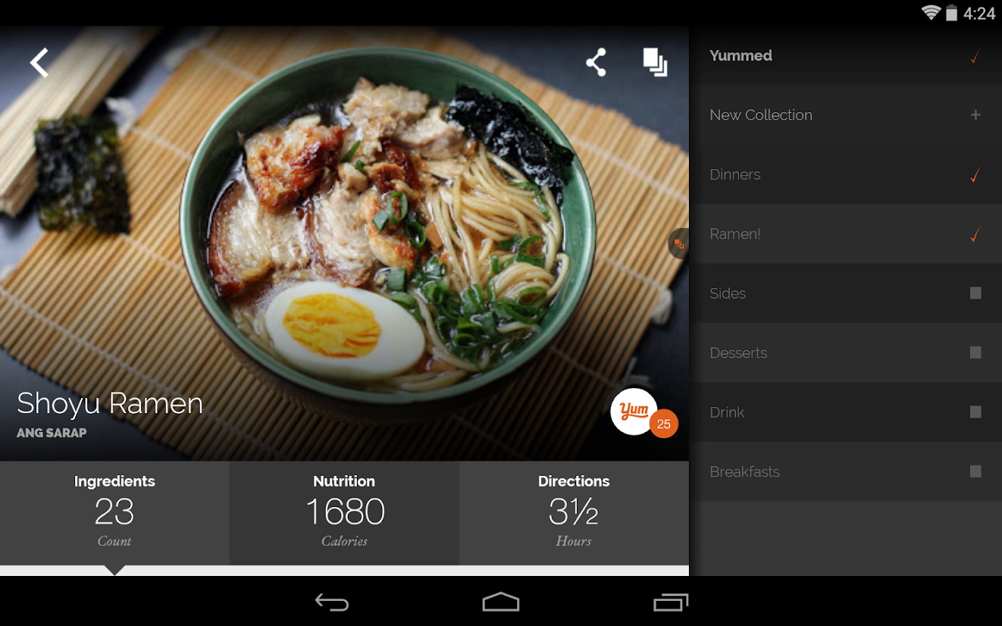 Yummly Recipes & Shopping List – Android-Apps auf Google Play