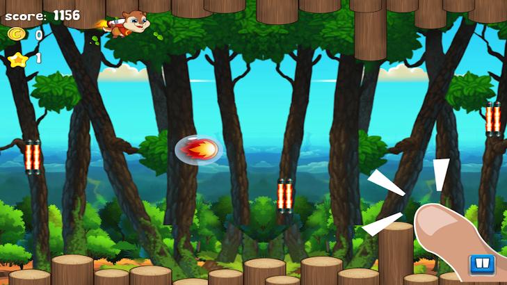 Chipmunk Chomp Flappy Flying screenshot