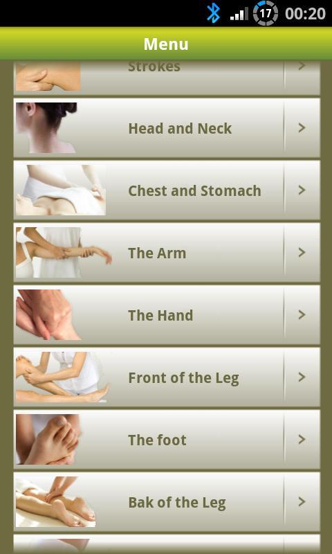 Massage Lite- screenshot