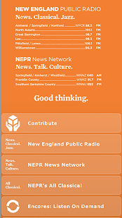 New England Public Radio- screenshot thumbnail