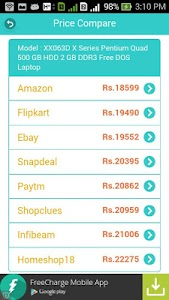 Compare Price india screenshot 3