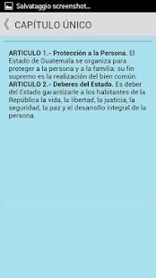 Constitución de Guatemala- screenshot thumbnail