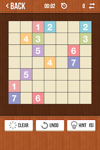 Number Link Sudoku Style Game - screenshot thumbnail