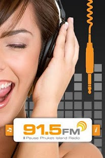 91.5FM Phuket Island Radio - screenshot thumbnail