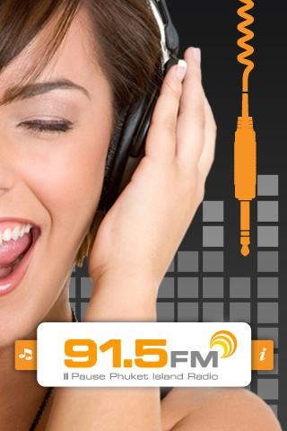 91.5FM Phuket Island Radio- screenshot