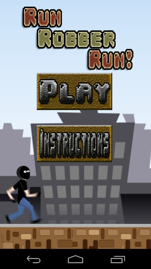 Run Robber Run! FREE- screenshot