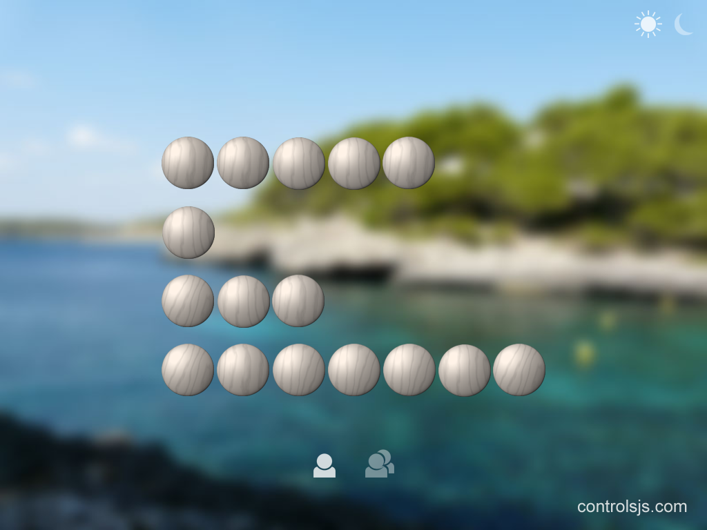 Controls.js NIM Game- screenshot