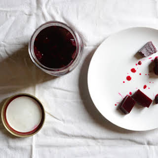 Pickled Beets with Honey.
