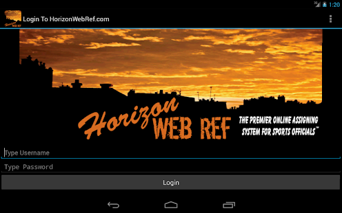 HorizonWebRef.com- screenshot thumbnail