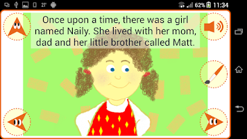 Screenshot of Read & Paint: Stories for Kids