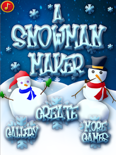 Snowman Maker FREE - Christmas