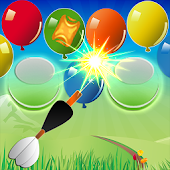 Pin Shooter - Balloon Shooting
