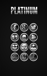 Platinum - Icon Pack - screenshot thumbnail
