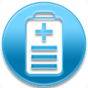 Battery drain analyzer monitor logo