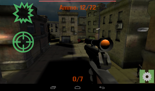 Secret Forces - Sniper Zombie