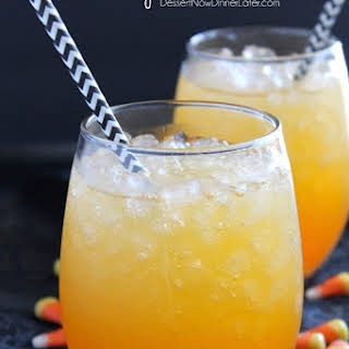 Candy Corn Punch.