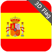 Spain Flag - High Quality 3D