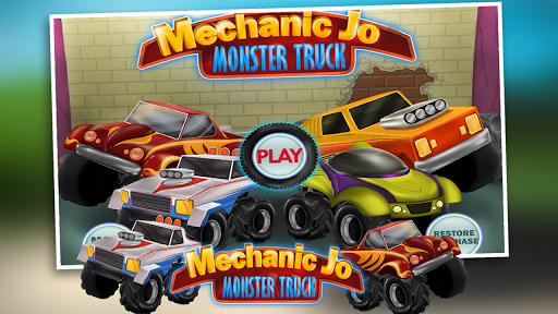 Mechanic Jo - Monster Truck