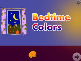 Screenshot of Bedtime Colors HD